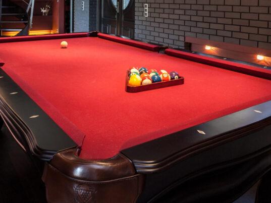 pool table refelting Washington DC